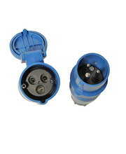 Power Plugs CEE 2P+E male & female