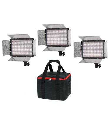 KIT 3 x LED Panel PL680 - Bi-Color