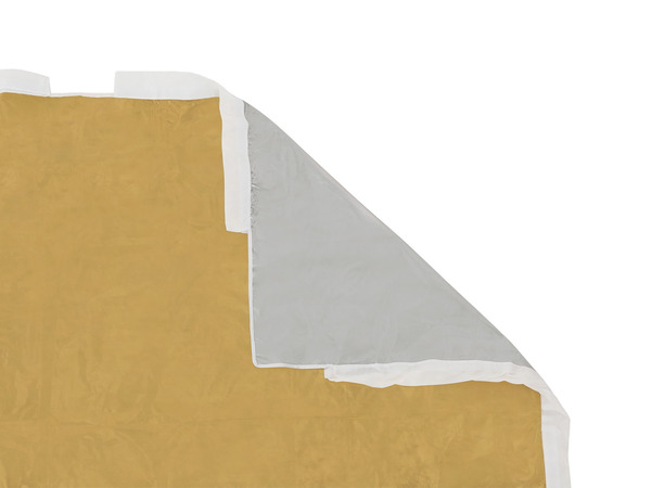 Silver & Gold Fabric